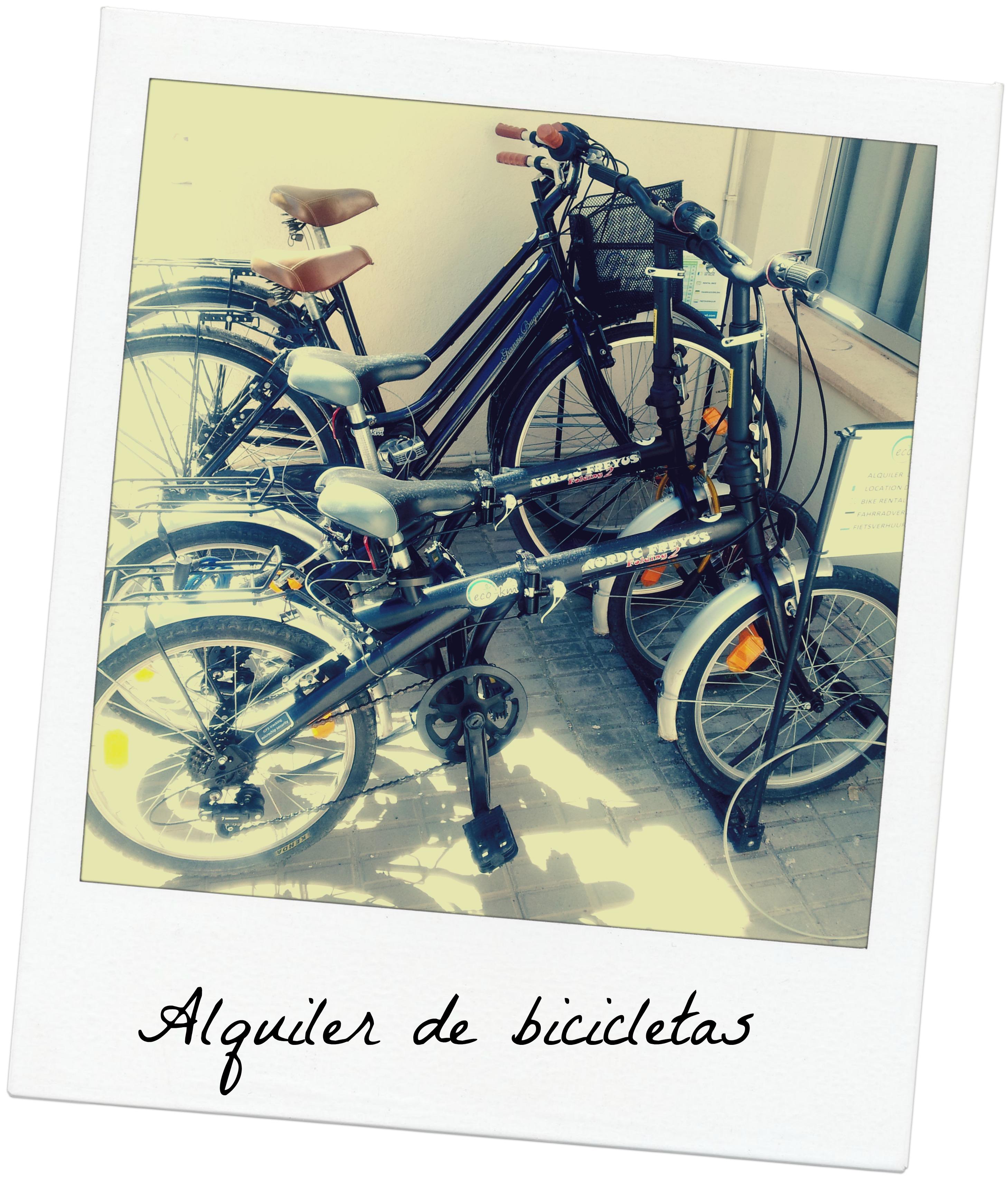 Alquiler bicis hotel