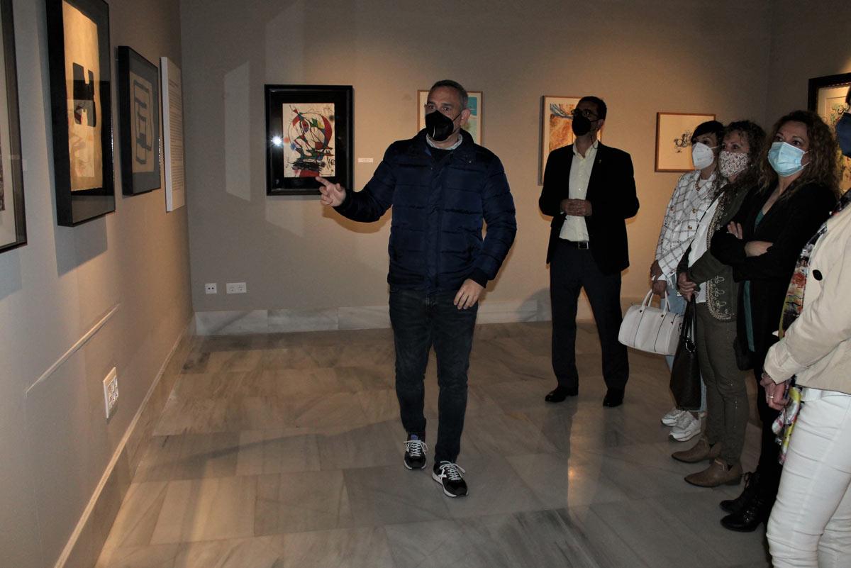 Exposición de arte en Villa Elisa, Benicàssim